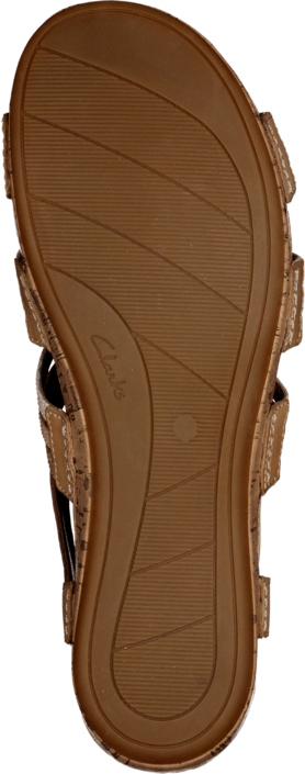 Clarks - Raspberry Chic Tan Combi Leather