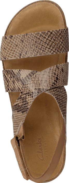 Clarks - Perri Dunes Taupe Snake