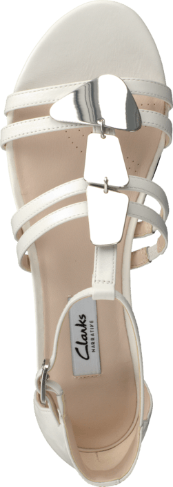 Clarks - Studio Star White Leather
