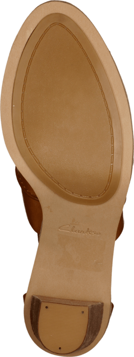 Clarks Oriana Bess Tan Leather