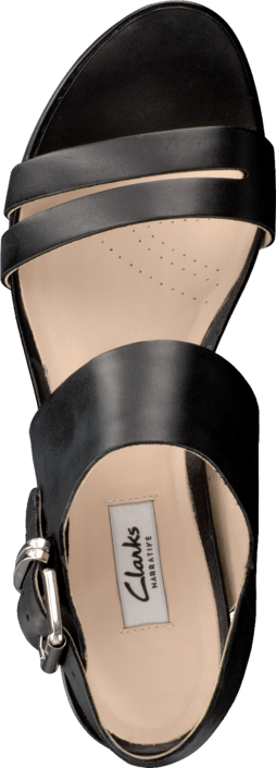 Clarks Perez Glitter Black Leather