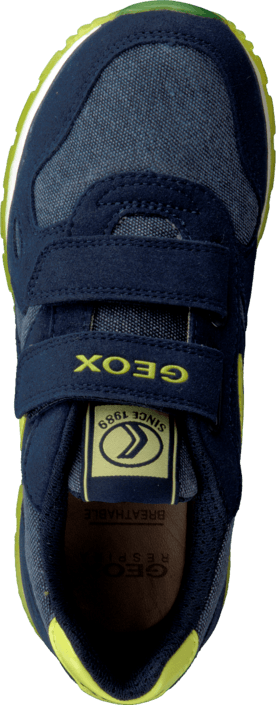 Geox - J Pavel Navy/Lime