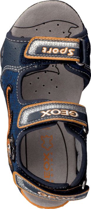 Geox - B Sandal Strike Navy/Orange