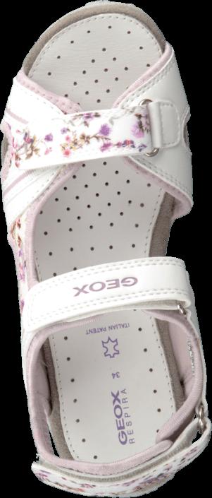 Geox - Jr Sandal Roxanne White/Lilac
