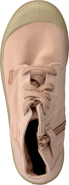 Palladium - Pampa Hi Zipper Kids Salmon Pink