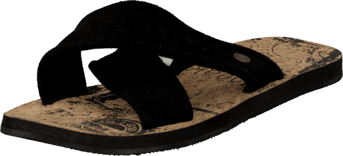 Sneaky Steve - V1523 Canvas cross Black