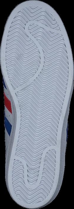 adidas Originals Superstar Ftwr White/Blue/Red