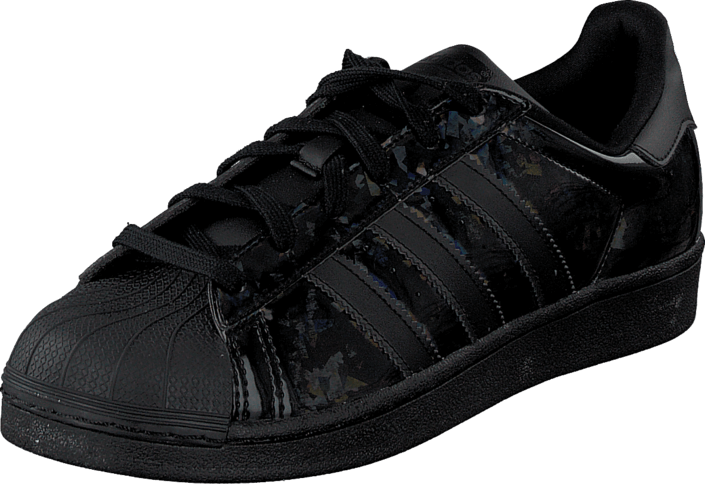 svarta adidas superstar