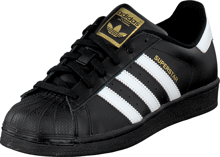 Buy adidas Originals Superstar Foundation Jr Black/White Grey Shoes Online | FOOTWAY.co.uk
