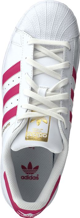 adidas Originals - Superstar Foundation Jr White/Bold Pink