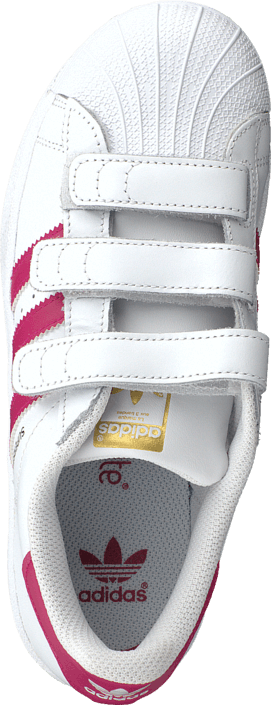 innovative design 1f5e8 473b5 Buy adidas Originals Superstar Foundation Cf C Ftwr White Bold Pink White  Shoes Online   FOOTWAY.co.uk