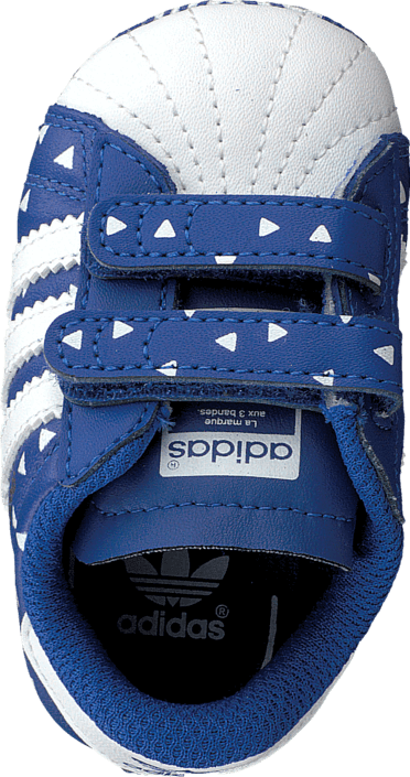 adidas Originals - Superstar Crib Bold Blue/Ftwr White/Bold Blue