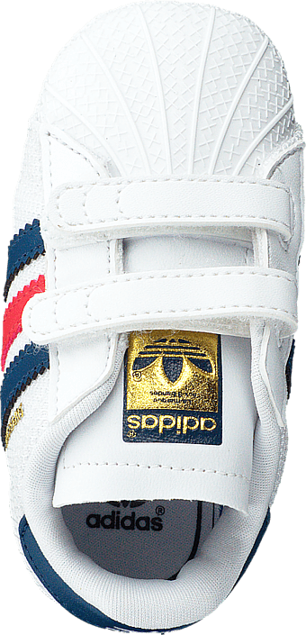 adidas Originals - Superstar Crib Ftwr White/Shadow Blue S16-St