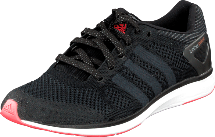 adidas Sport Performance - Adizero Feather Prime M Black/Dark Grey/Solar Red