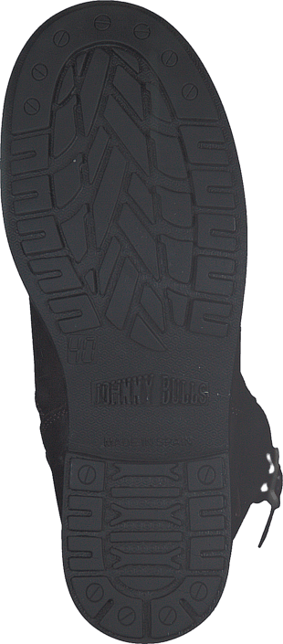 Johnny Bulls - High Zip Back Brown Shiny Silver