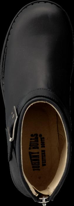 Johnny Bulls - Very Low Boot Zip Back Black/Silver