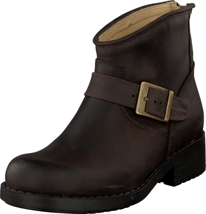 Johnny Bulls Very Low Boot Zip Back Brown/Gold