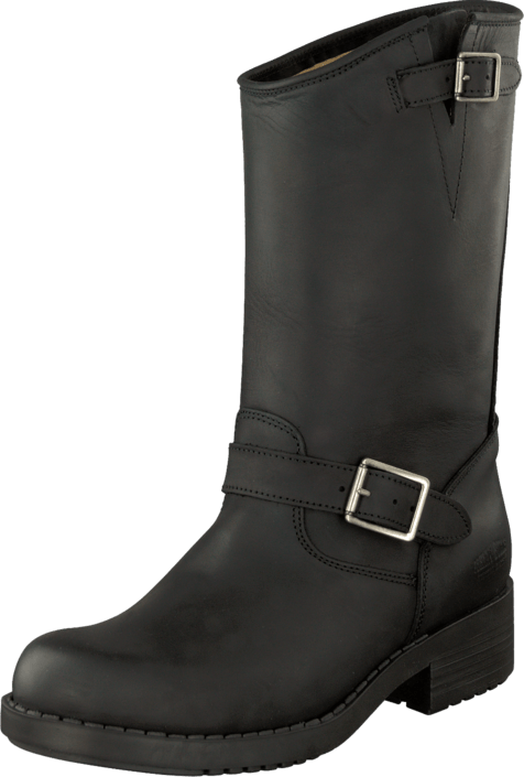 Johnny Bulls - Mid Boot Black/Silver