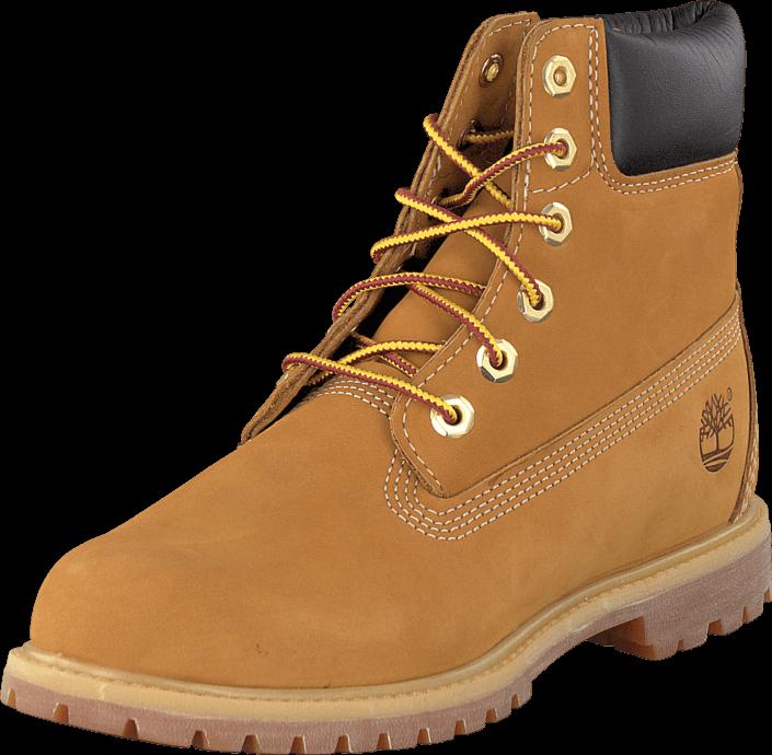 Timberland Classic 6'' Wheat, Sko, Boots & Støvler, Kraftige støvler, Orange, Dame, 41