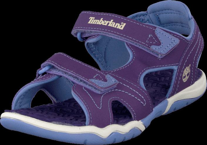 Timberland - Adventure 2-strap sandal Purple/Periwinkle