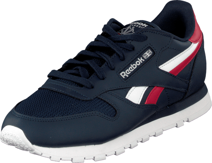 Reebok Classic - CL LTHR SC SPLIT Collegiate Navy/Excellent Red