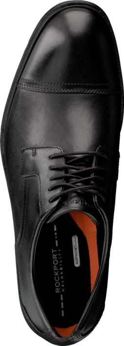 Rockport City Smart Cap Toe Black