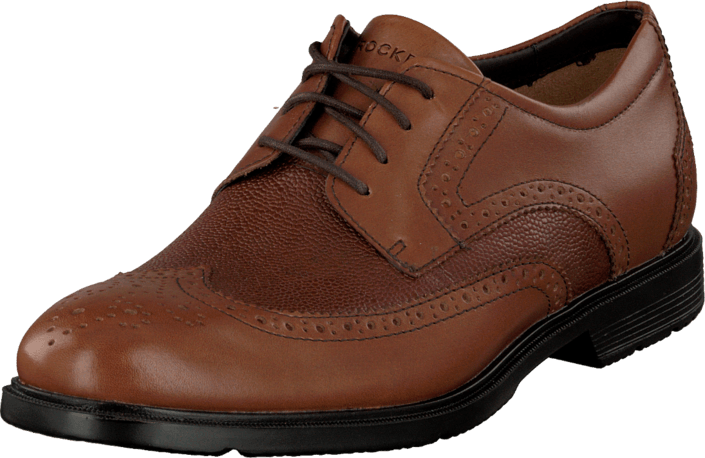 Rockport - City Smart Wing Tip Tan Smooth/Scotchgrain