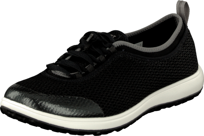 Rockport Laceup Walk360 Washable Black Mesh