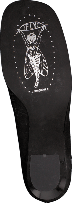 Fly London - Lech Black/Silver Heel