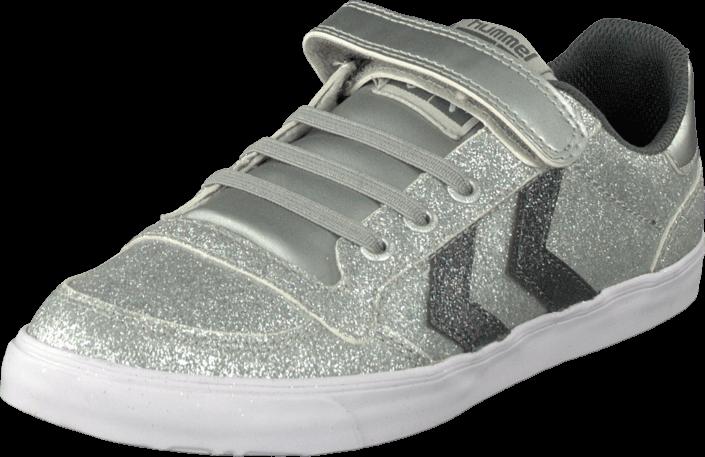 Hummel - Sl Stadil Jr Glitter Lo Silver