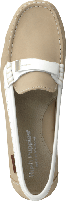 Hush Puppies - 81202200 Taupe/ White
