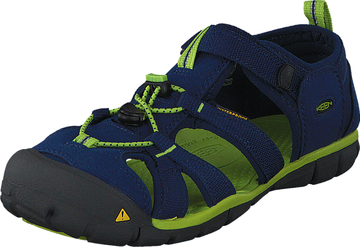 Keen Seacamp II Cnx Youth Blue Depths/Lime