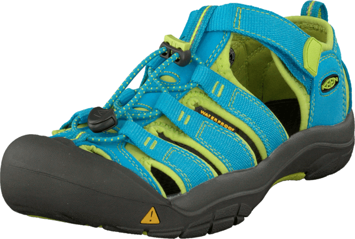 Keen Newport H2 Youth Hawaiian Blue/Green Glow