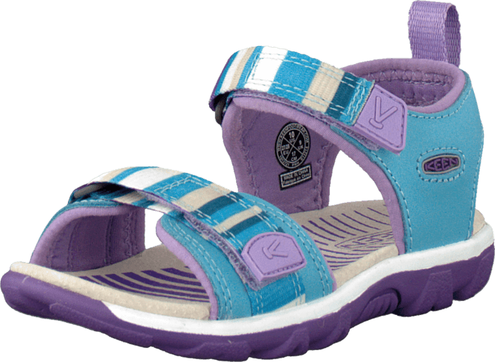 Keen - Riley Toddler Blue Grotto/Bougainvillea