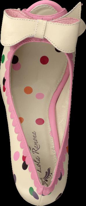 Lola Ramona - Angie P 412205-11 Creme/multi dots