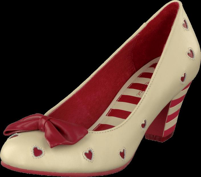 Lola Ramona Elsie 411621-17 Creme/red