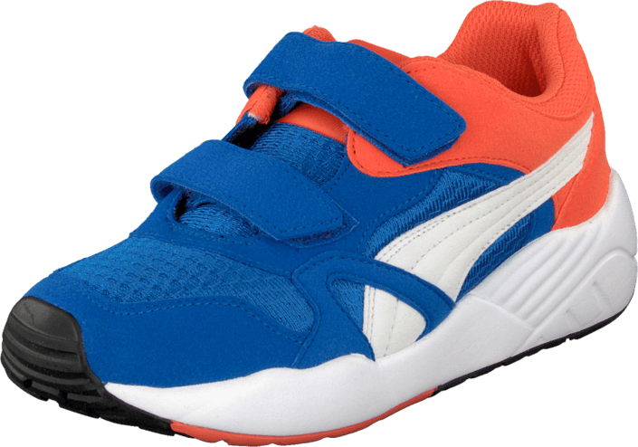 Puma - Xs 500 Kids Strong Blue-White-Nasturtium