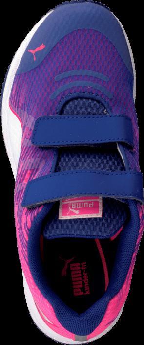 Puma - Faas 300 V4 V Kids Clematis Blue-Fluo Pink-White