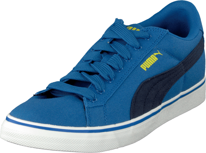 Puma - Puma S Canvas Vulc Jr Strong Blue-Peacoat
