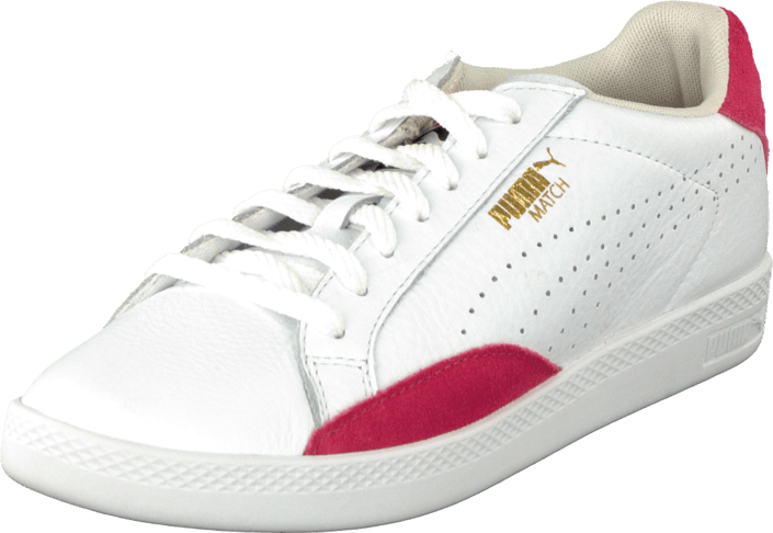 Puma Match Lo Basic Sports Wn'S White-Geranium