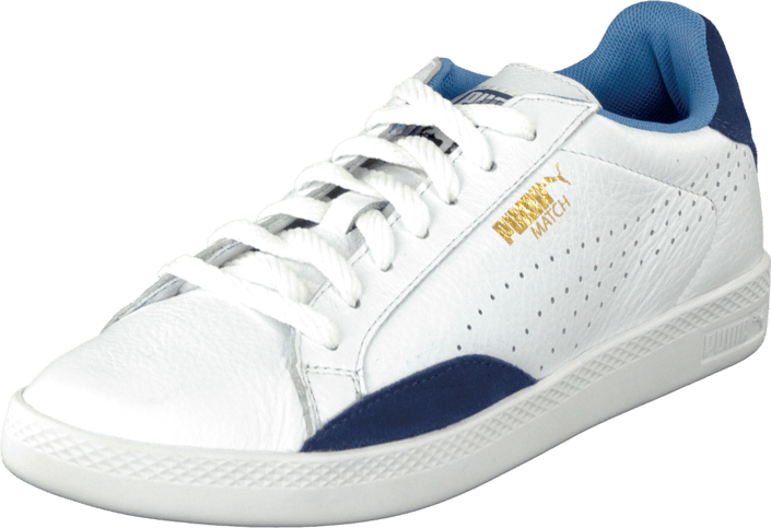 Puma - Match Lo Basic Sports Wn'S White-Crown Blue