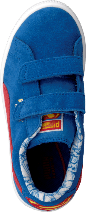 Puma - Suede Superman V Kids Blue/Red
