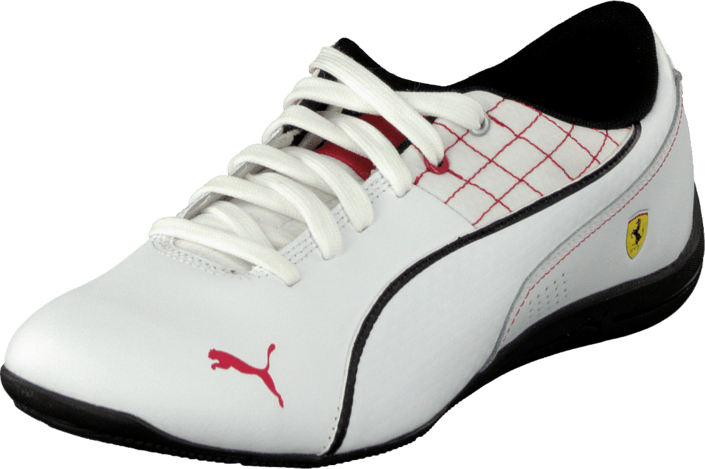 Puma - Drift Cat 6 L Sf Jr White-White-Black