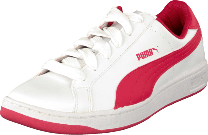 Puma - Puma Smash L Jr White-Geranium