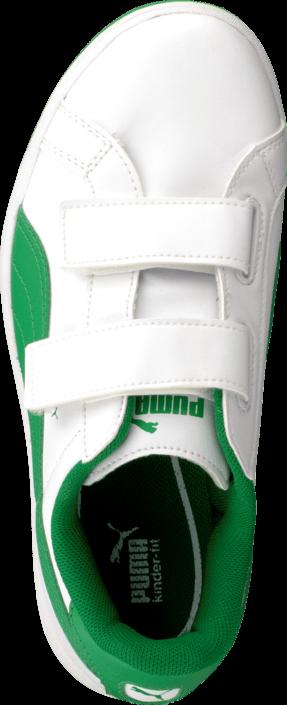 Puma - Puma Smash L V Kids White-Fern Green