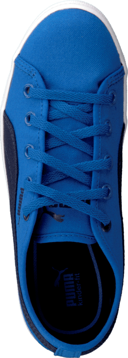 Puma - Elsu F Canvas Jr Strong Blue-Peacoat