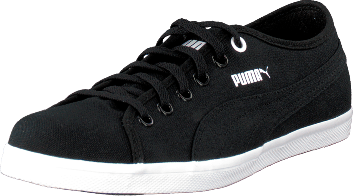 Puma - Elsu F Canvas Jr Black-Black-White