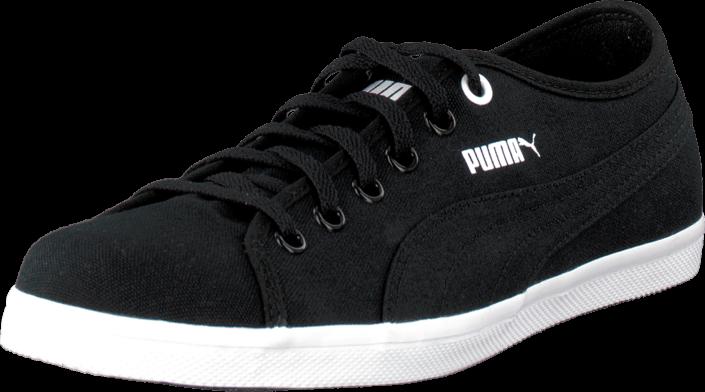 Puma - Elsu F Canvas Jr Black-Black-White