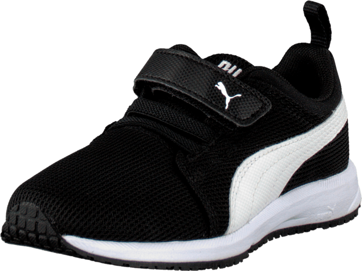 Puma Carson Runner V Kids Black-White