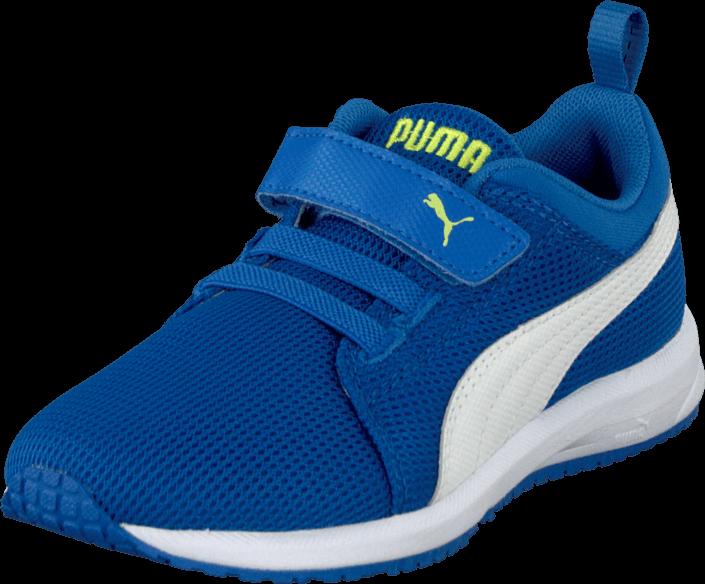 Puma Carson Runner V Kids Strong Blue-White